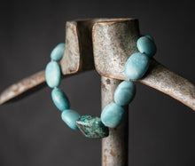 Load image into Gallery viewer, Amazonite and chrysocolla necklace
