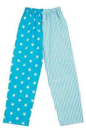 Turquoise Star Stripe Pyjama Bottoms
