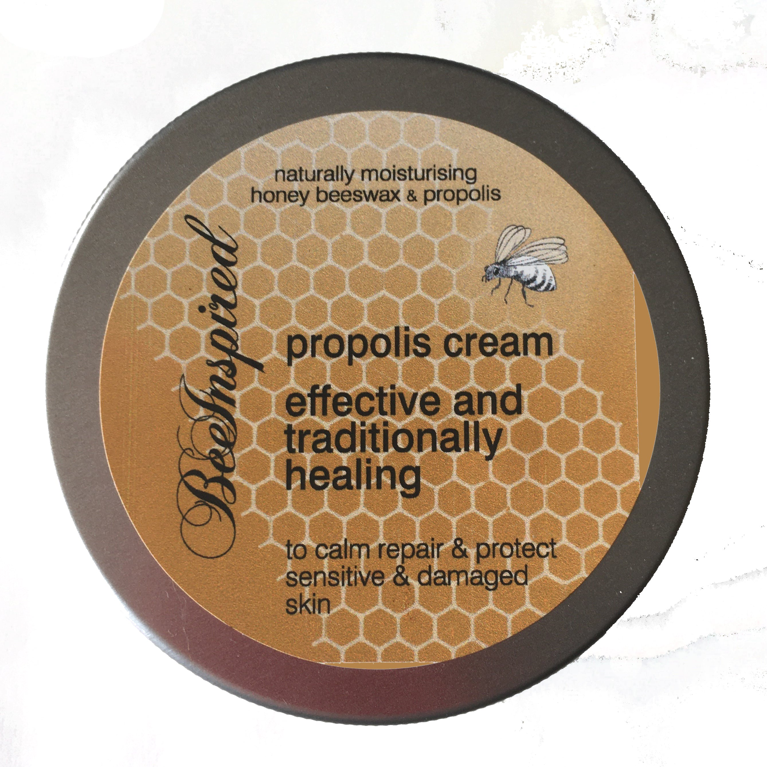 Propolis Cream with Honey and Beeswax (aka Propolis Salve)
