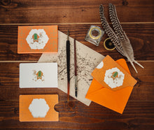 Load image into Gallery viewer, 6 Camel Motif Notecards