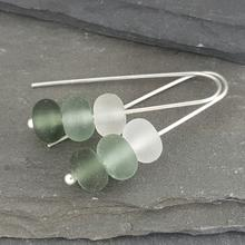 Gradient Collection - Trio Earrings - Grey
