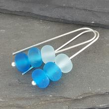 Gradient Collection - Trio Earrings - Turquoise