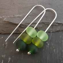Gradient Collection - Trio Earrings - Green
