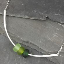 Gradient Collection - Trio Necklace - Green