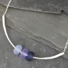 Gradient Collection - Trio Necklace - Violet