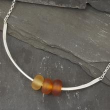 Gradient Collection - Trio Necklace - Amber