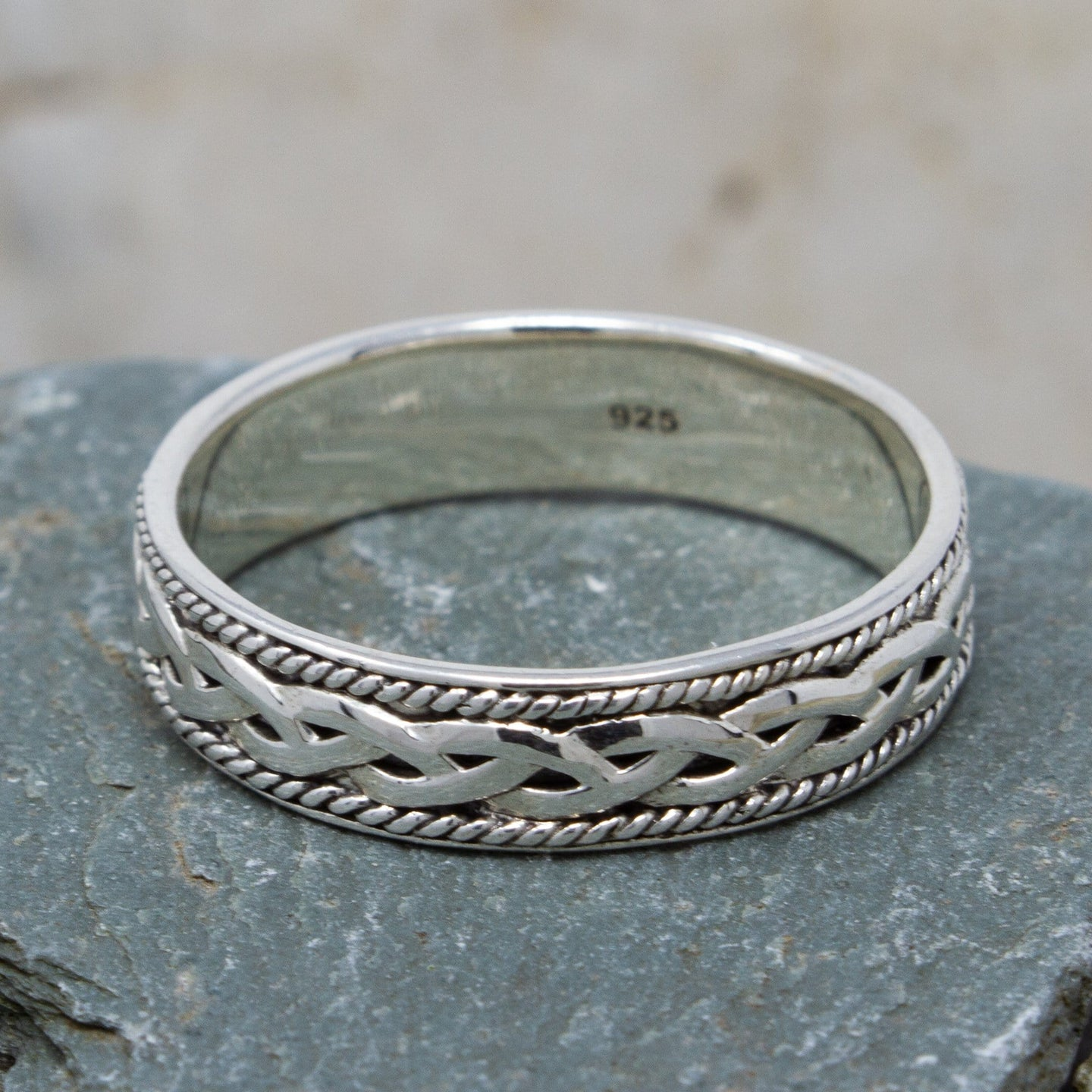 Small Celtic Knot Ring