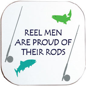 REEL MEN COASTER