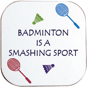 BADMINTON COASTER