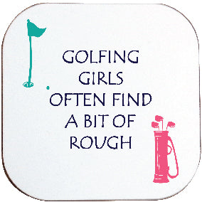 GOLFING GIRLS COASTER