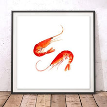 Load image into Gallery viewer, Prawns,  fine art print