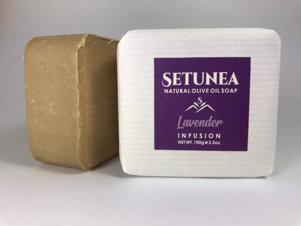 Infusion soap - Lavender 100g