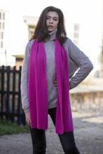 Load image into Gallery viewer, Cashmere Ribbed Scarf
