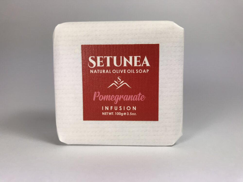 Infusion soap - Pomegranate 100g