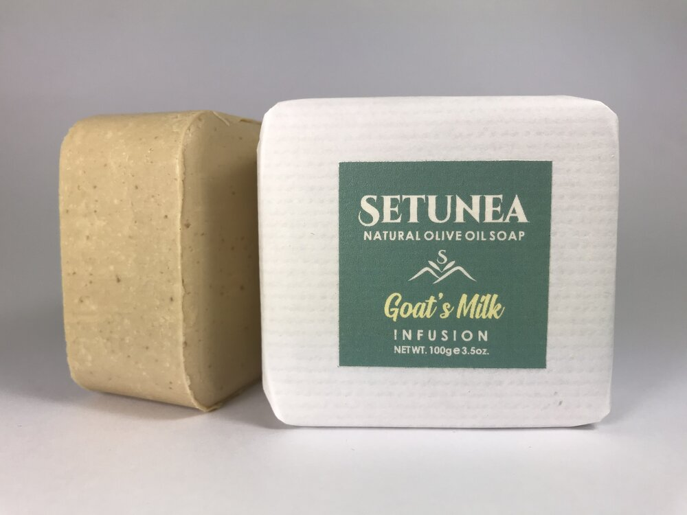 Infusion soap - Goat's milk 100g