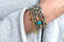 Load image into Gallery viewer, Lyra 3 Layered Gold Bracelet Stack