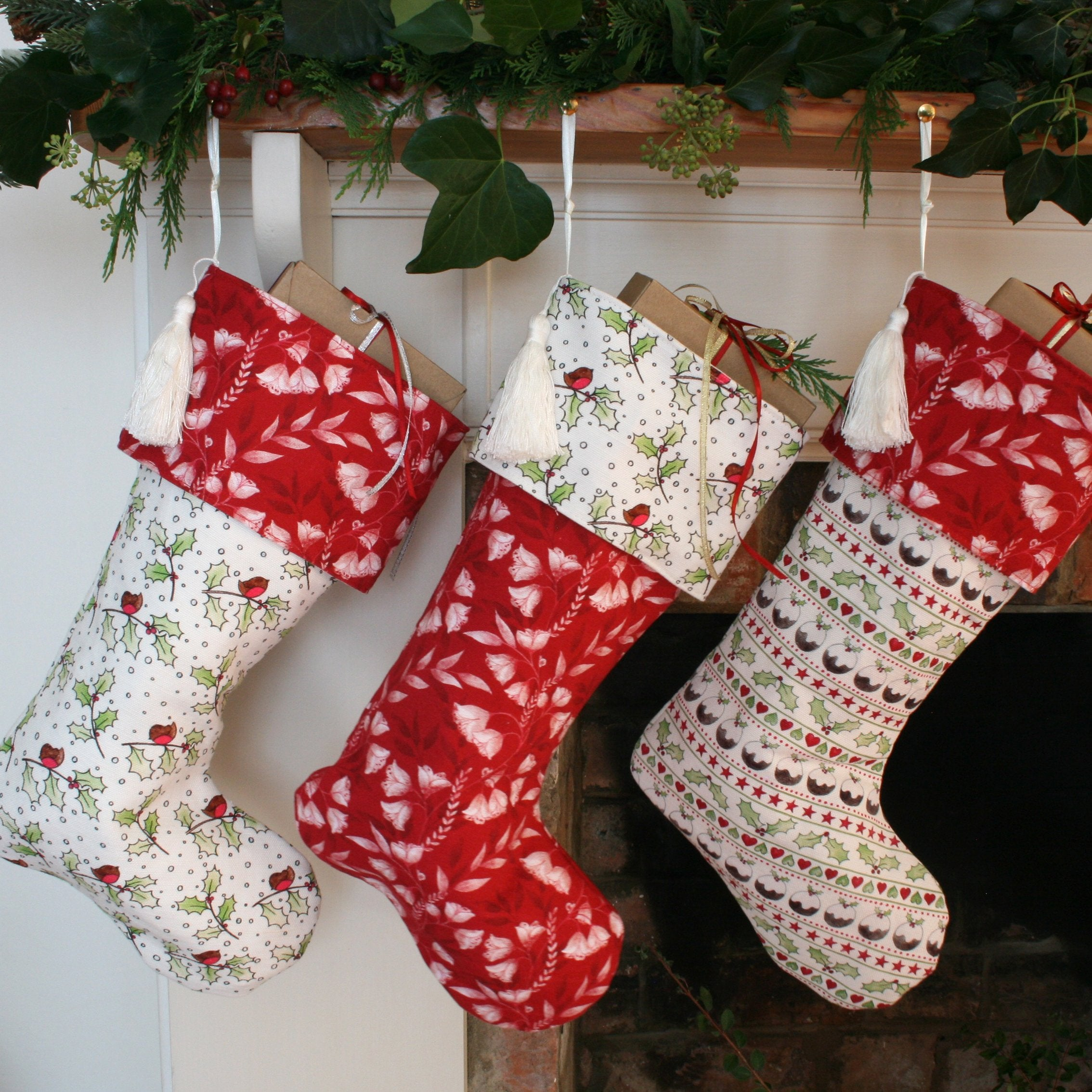 Pudding Christmas Stocking
