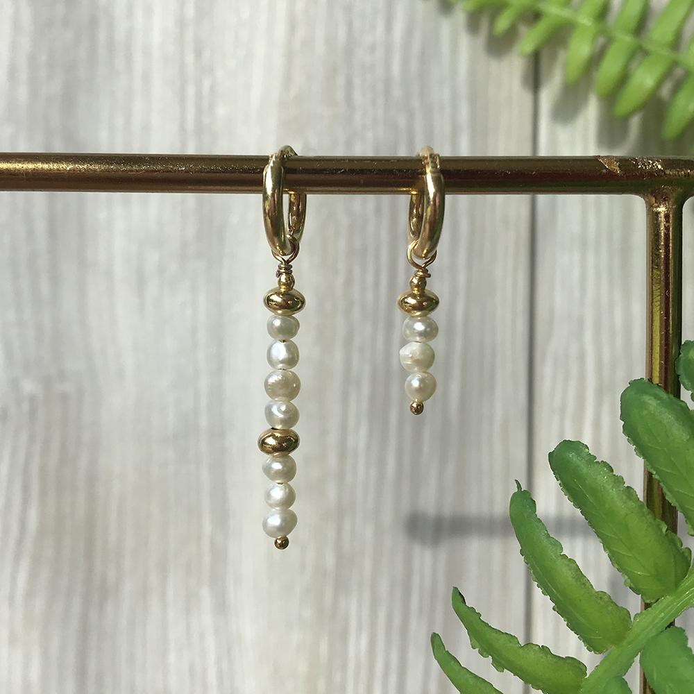 Bella Pearl Earring Collection