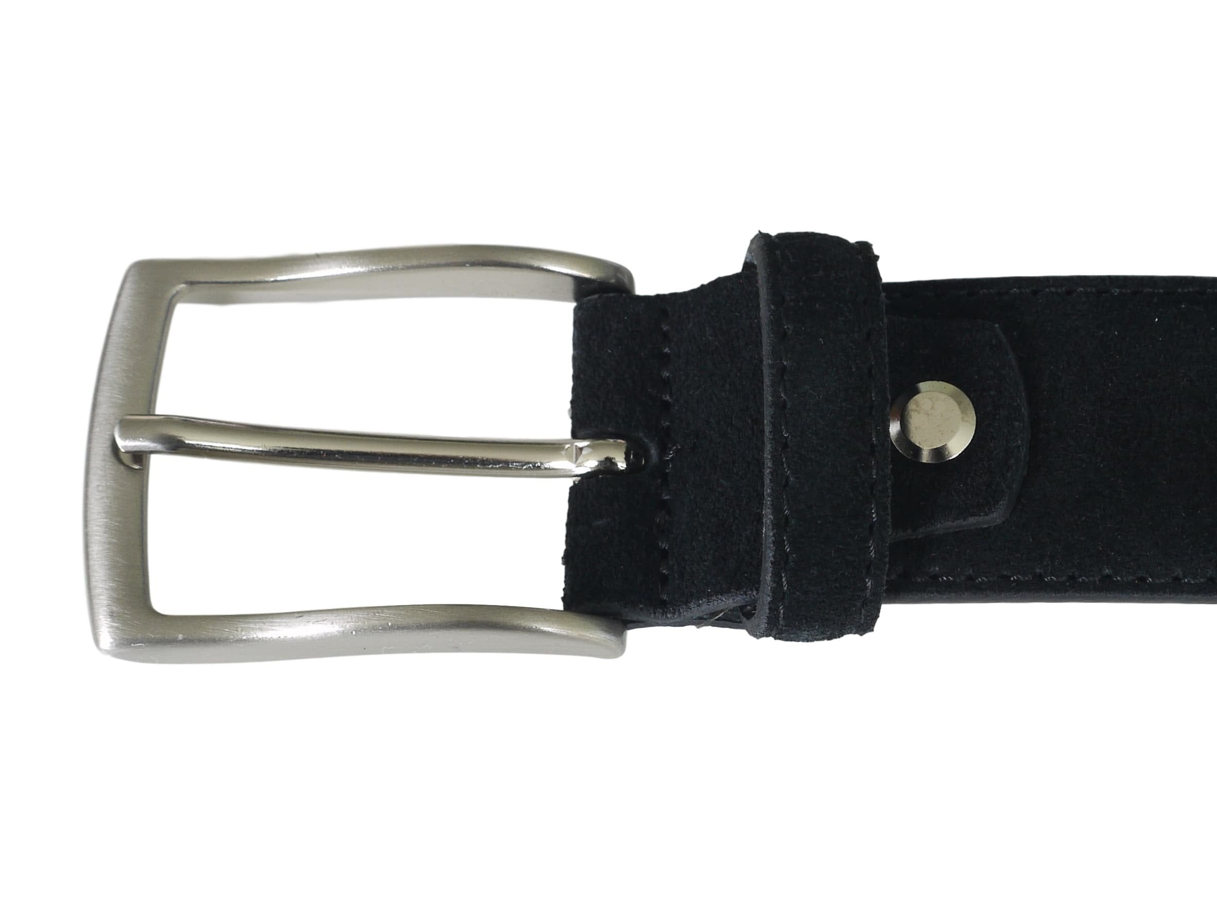 Black Suede Belt - Papavero Range
