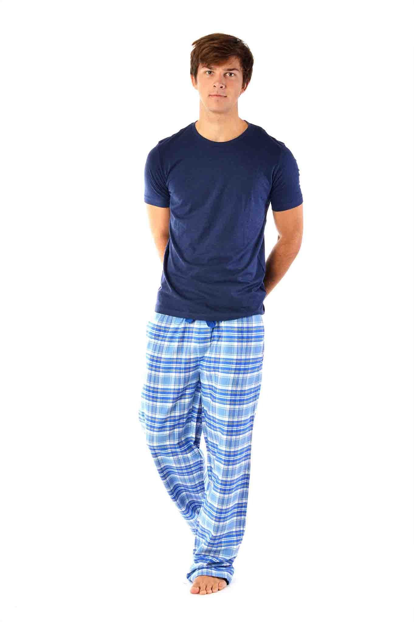 Somborne blue check Men's