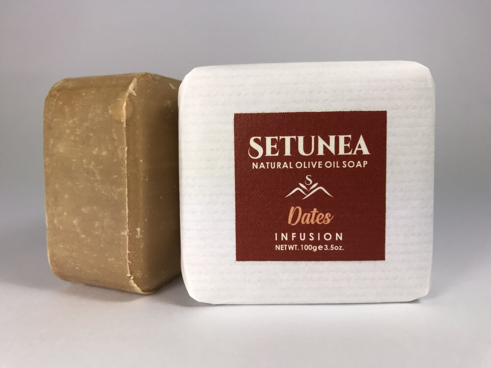 Infusion soap - Dates 100g