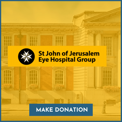 Donate to St John's Eye Hospital