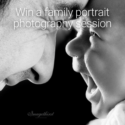 PRIZE DRAW FAMILY PHOTO SHOOT
