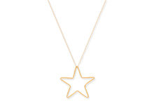 Load image into Gallery viewer, Concord Gold Star Necklace