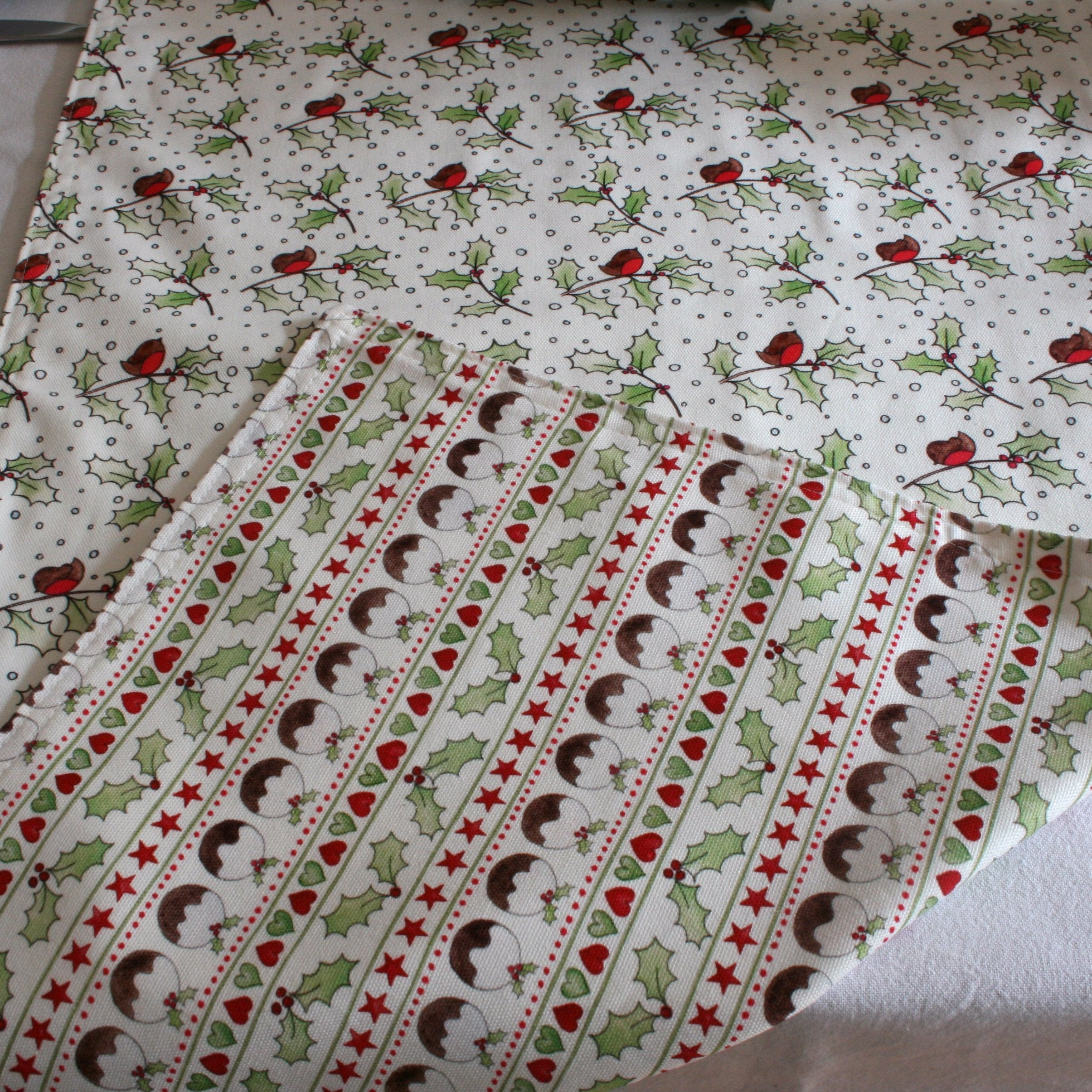 Double sided Christmas Table Runner