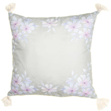 Load image into Gallery viewer, Large Green Floral Cushion