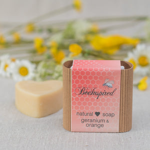 Natural Soap - Geranium and Orange