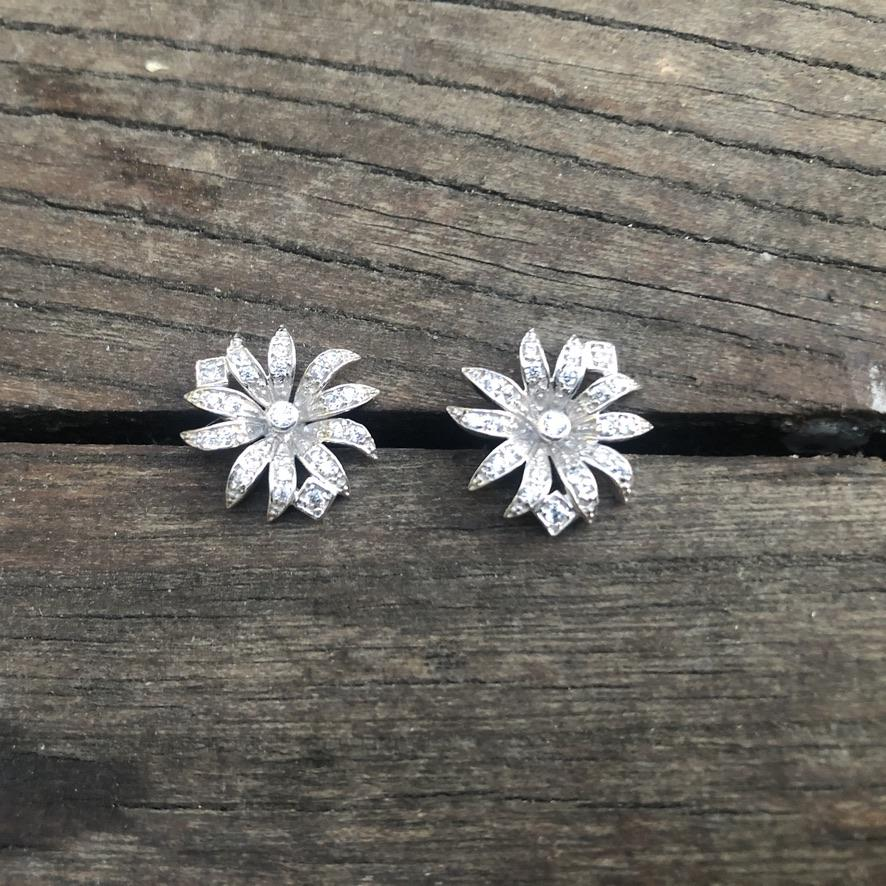 Diamanté Dhalia Earrings