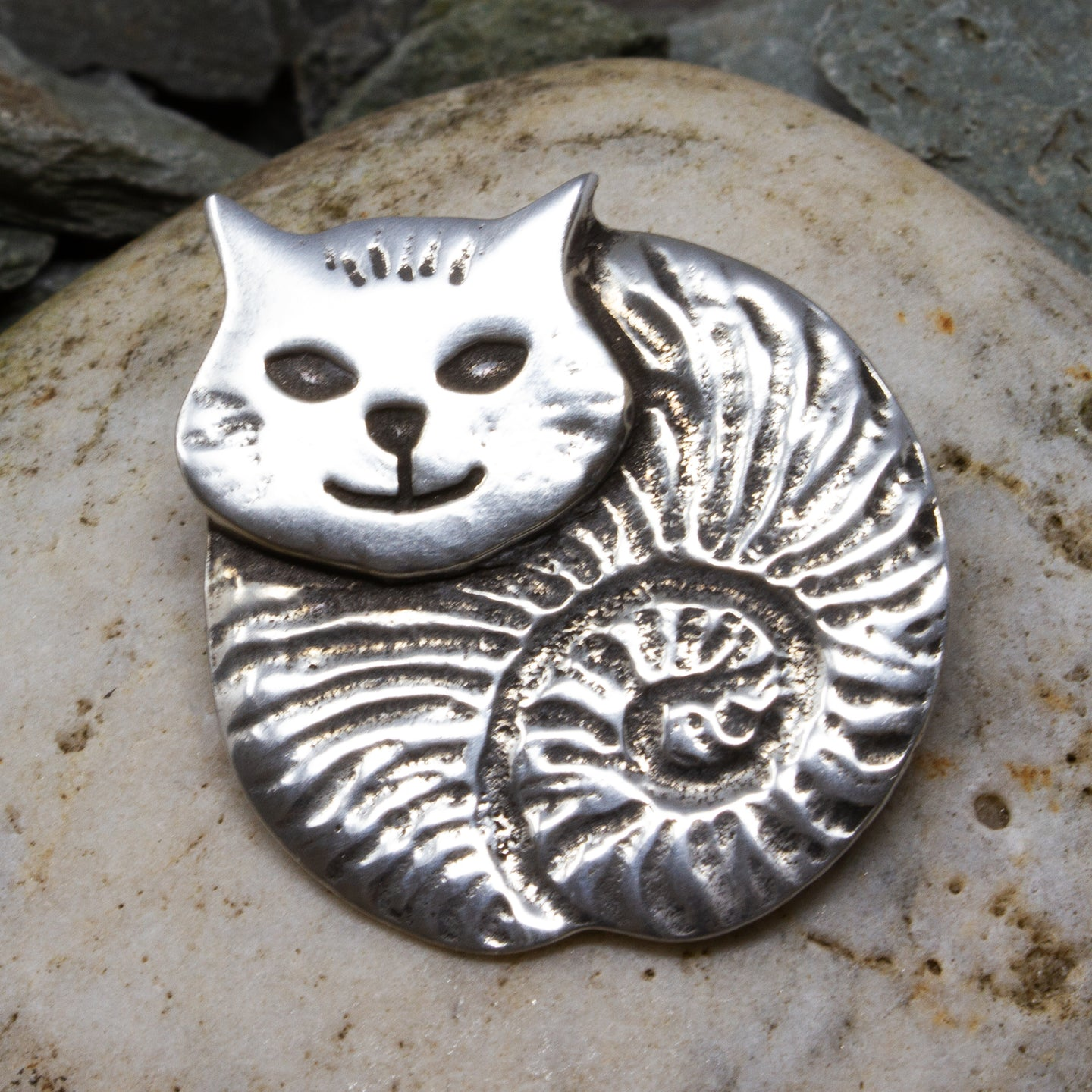 Fat Cat Brooch