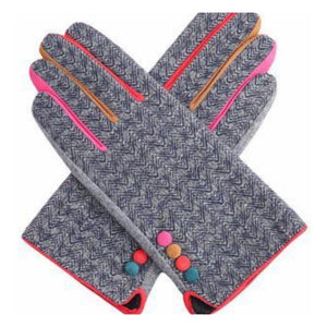 Gavi Herringbone Gloves