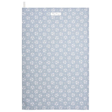 Load image into Gallery viewer, Slate Grey Floral Tea Towel
