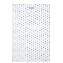 Load image into Gallery viewer, Grey Heart & Roses Tea Towel
