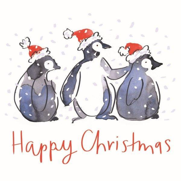 Happy Christmas Penguins