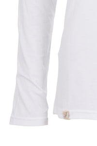 Silky Roll Neck - Brilliant White
