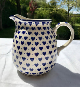 Light Hearts Jug