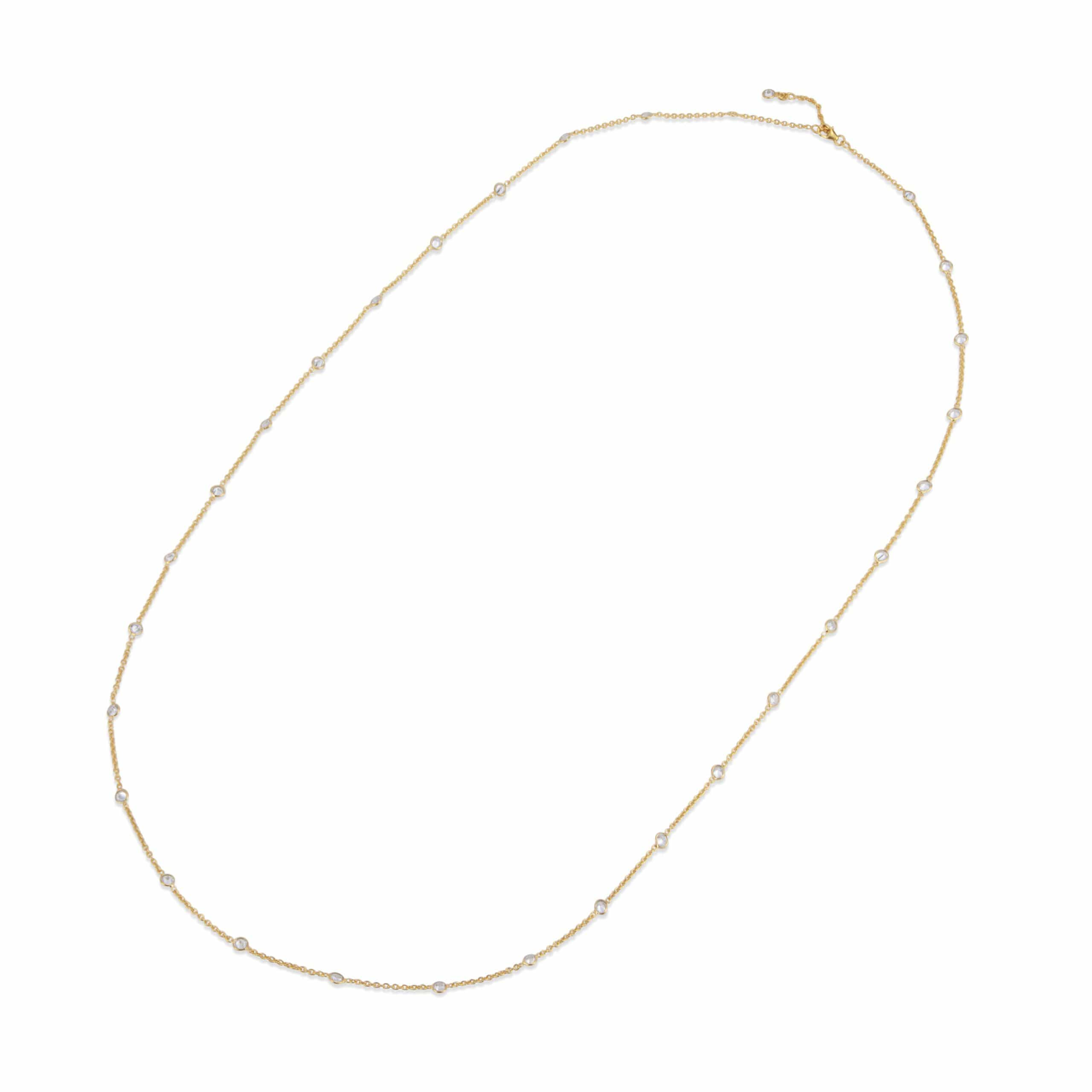 Stella Necklace Long Gold