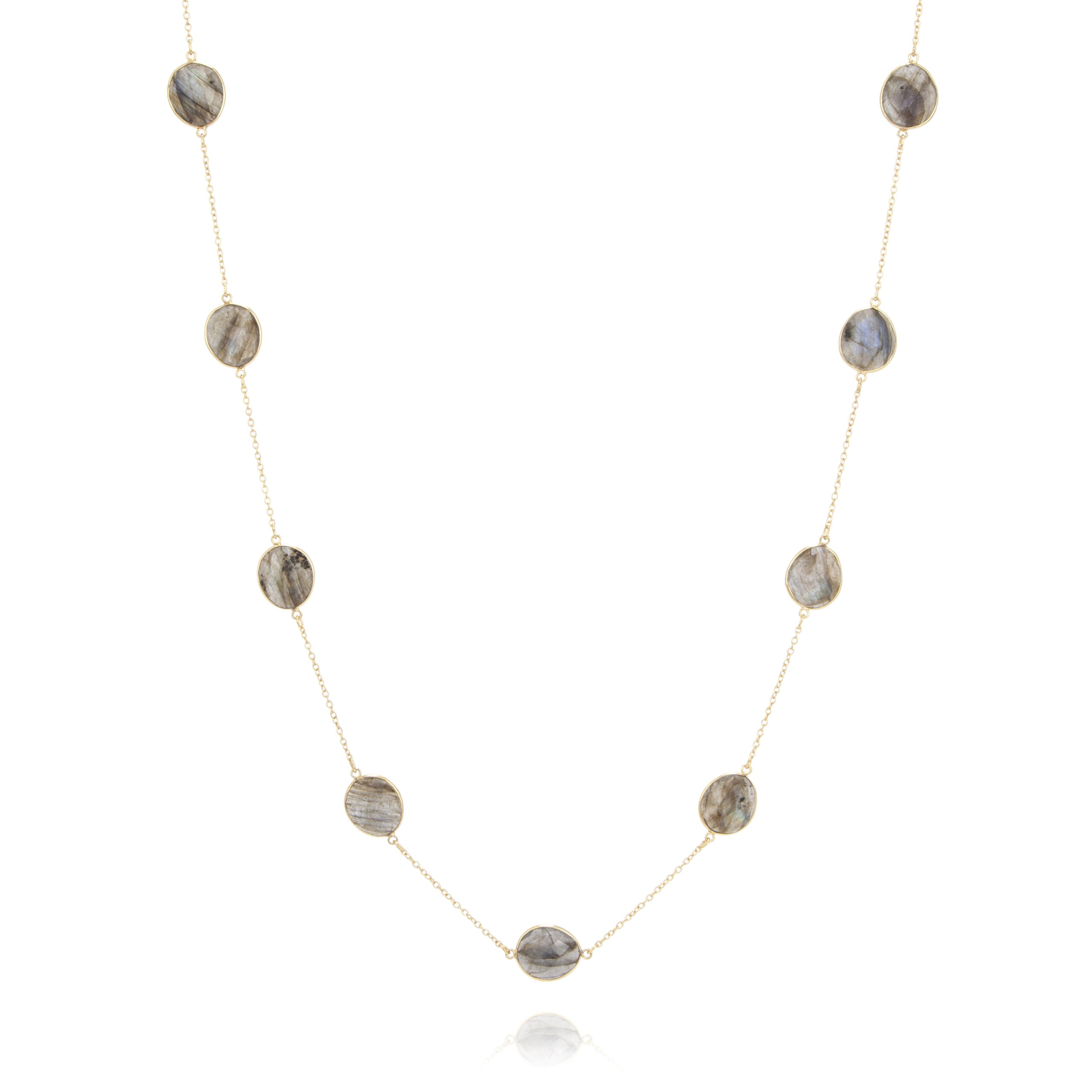 Maia Necklace - Labradorite