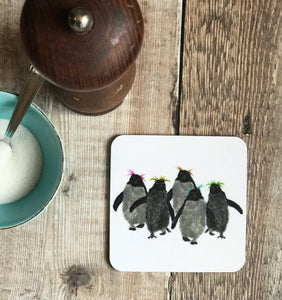 COASTER - Square - Rockhopper Penguin Group of Five