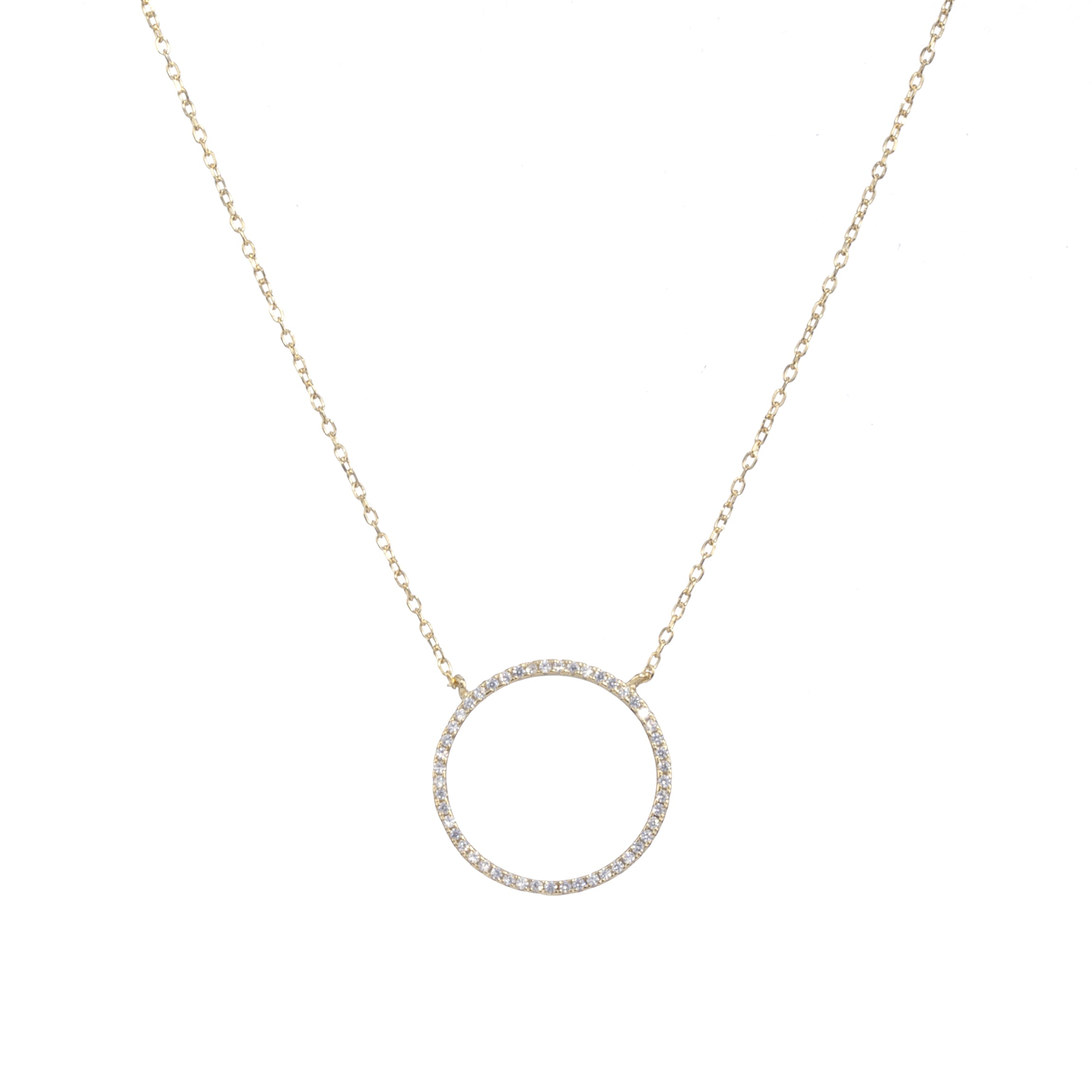 Ossia Necklace Gold or Silver