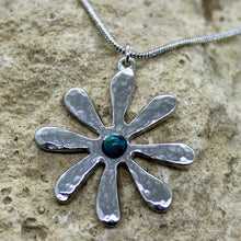 Load image into Gallery viewer, Dahlia Pendant Turquoise