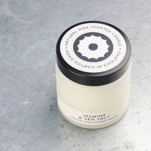 jasmine & sea salt travel candle