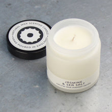 Load image into Gallery viewer, jasmine & sea salt travel candle