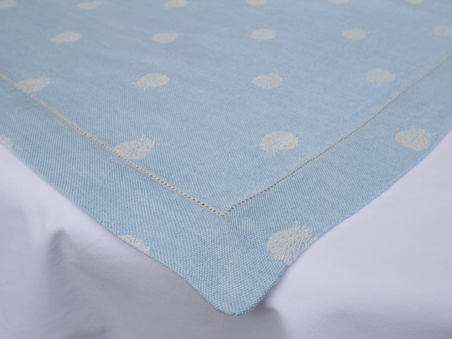 Powder Blue Ladybird Table Runner