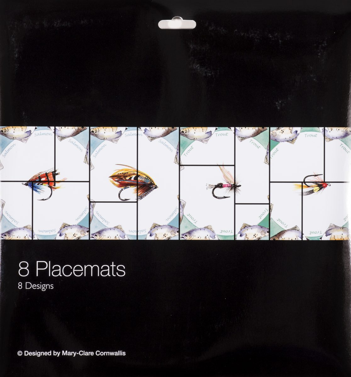 Placemats Fishing Flies