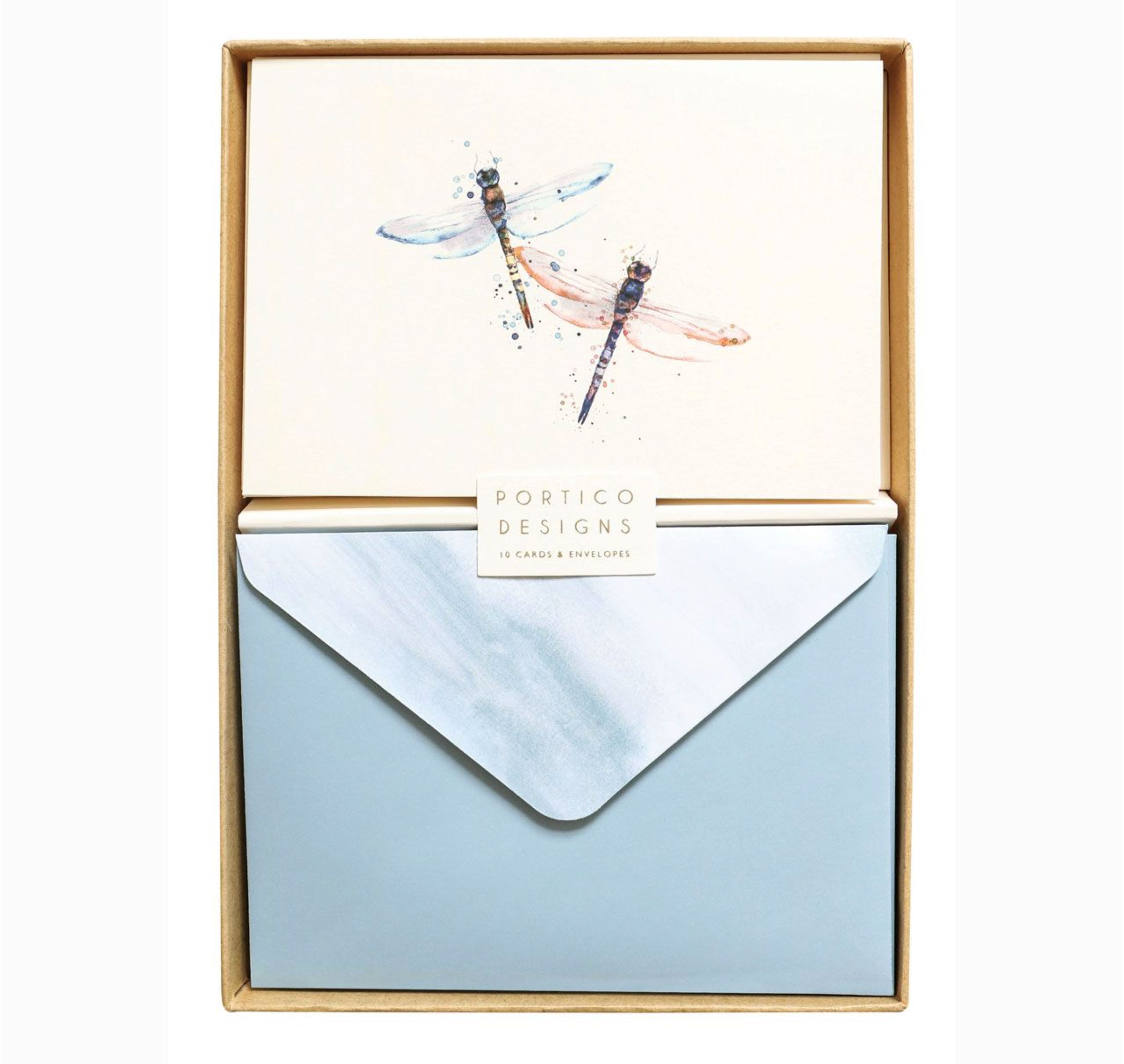 Notecard Set with Dragonflies