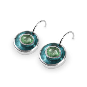 Organic Circles Earrings - Orchard